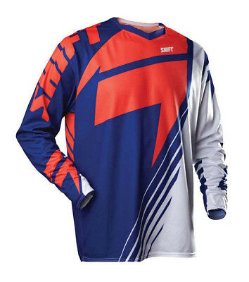 Shift 2013 Le Reed A3 Mx Motocross Jersey Blue Orange Xl