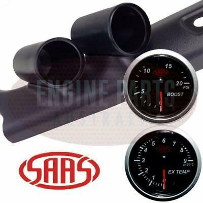 Toyota 75 Series Landcruiser Pillar Pod Turbo Diesel Boost Exhaust Temp Gauges