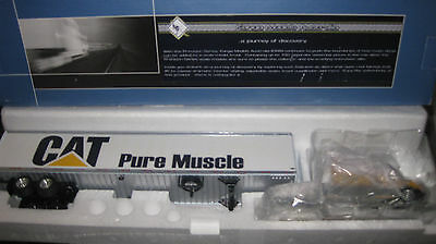 1/53 Kanga Models Kenworth T600 Truck  With 53' Dry Van Cat Pure Muscle