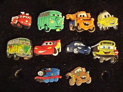 Croc Clog Shoe Plugs Button Charms New Fit Kids Bracelet Accessories Cars Trucks