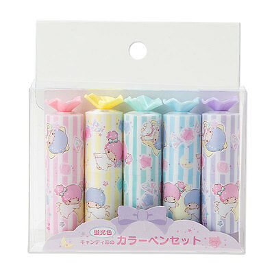 Little Twin Stars Candy Shape Color Pen Set (Candy Shop) SANRIO from Japan