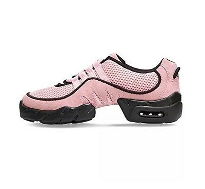 NIB Bloch #S0538 Boost Women's Pink Hiphop Dance Fitness Sneaker, Youth/Adult