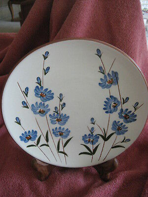 """Stangl Blue Chicory Pattern 8"""" Plate........gorgeous!!!!!"""