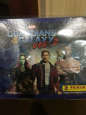 Marvel Guardians Of The Galaxy Volume 2 Box Of 50 Album Stickers By Panini