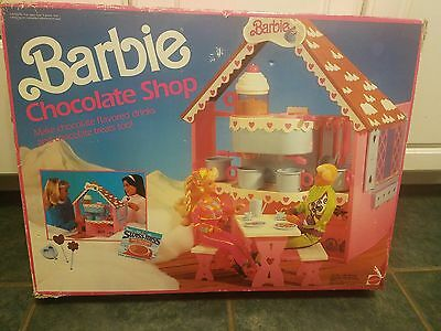 """Mattel - """"barbie Chocolate Shop"""" - 1991 - #9698 - Comes With Box"""