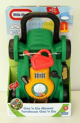 Little Tikes Gas N Go Mower 2017 Design Brand New Pre School No Batteries Sydney