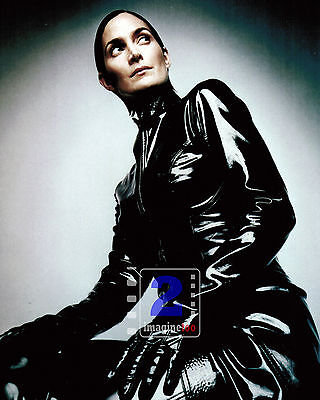 """Carrie-Anne Moss 8""""x 10"""" Great Color PHOTO REPRINT"""