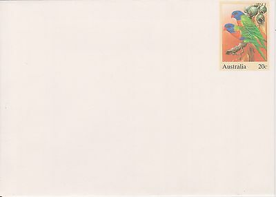 (K34-16) 1978 AU 20c PSE bird series rainbow lorikeet unused (B)