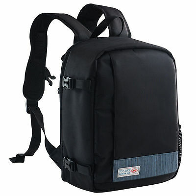 DSLR SLR Camera Bag Laptop Backpack Rucksack Case for Sony Canon