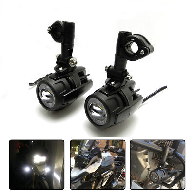 40w LED Auxiliary Fog Light Lamp with Bracket for BMW R1200GS 2013-2017
