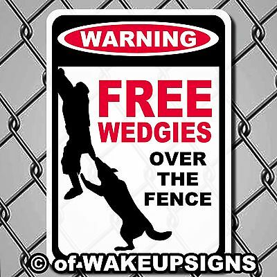 "Funny Beware Of Guard  Attack Dog Sign 10 X 14"" Aluminum Man Cave German Sheperd"