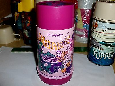 Bugaloos`1971`Sid & Marty Krofft Prod,Aladdin-Plastic Lunchbox-Thermos-Free 2 US