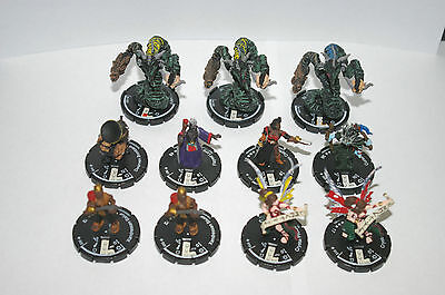 Mage Knight 2002, Lot of 11 'Mage Knight Minion' Figures Clix System, OOP (#3)