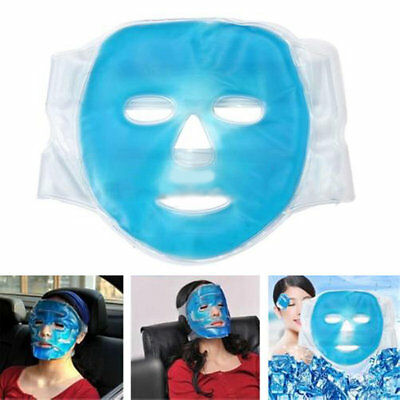 Headache Relief Face Mask Hot/Cold Cooling Soothing Relaxing Gel Filled Migraine
