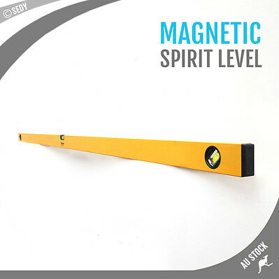 1800mm 180cm 1.8m 3 in 1 Sheffield Professional Aluminium Magnetic Spirit Level