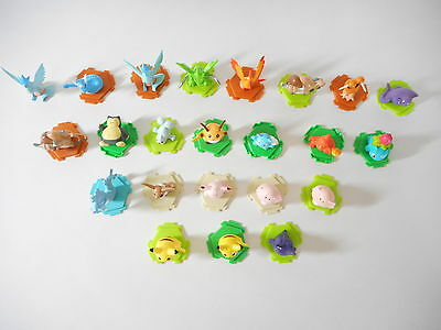 Pokemon Mini Figure lot of 23 Nintendo C/G Toy Tiny Set