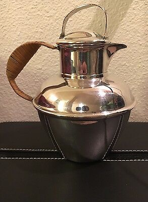 Lawrence B Smith Co Pattern 1119. Superfine Silver Tea Pitcher