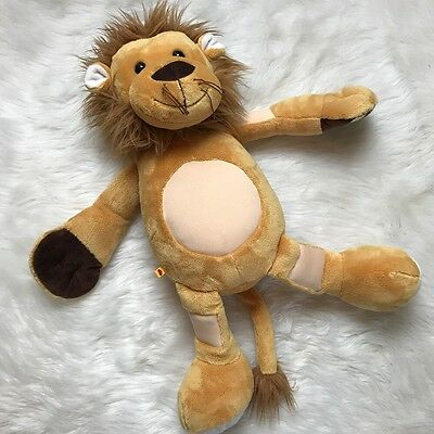 "Lenny the Lion 21"" Diabetes Plush Bear Medtronic Build a Bear BAB Diabetic RARE"