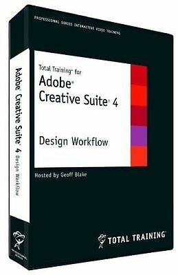 Total Training F/ Adobe Cs4 Dvd Design Workflow - Brand New