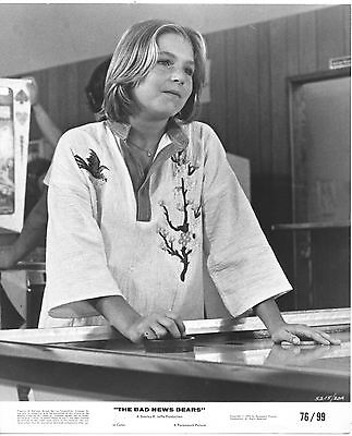 Tatum O'neal/bad News Bears/8X10 Original Photo Cc21693 6-127