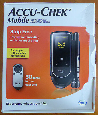 Accu-Chek Mobile blood Glucose meter for self-testing only