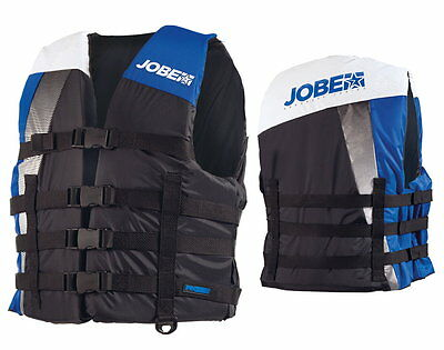 Jobe Progress Dual Nylon Vest blue Lifejacket Bootsweste Waterski