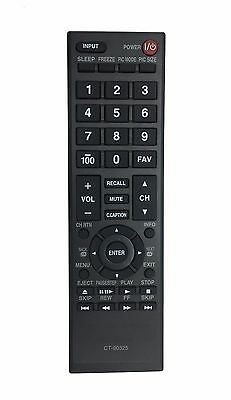 US New TV Remote CT-90325 for Toshiba 40E210U 40FT1U 19Sl400 19Sl400U 55HT1U