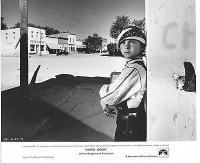 Tatum O'neal/paper Moon/8X10 Original Photo Cc21711 6-127
