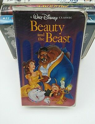 RARE Walt Disney's Beauty and The Beast VHS 1992 Black Diamond Classic