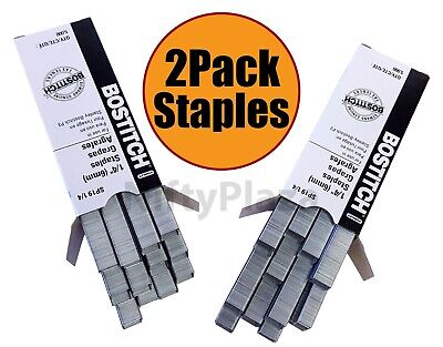 "2 Boxes of Stanley Bostitch P3 Staples SP19 1/4"" Premium ******* Free Shipping"