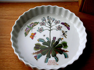 """A Large PORTMEIRION FLAN DISH in the BOTANIC GARDEN PATTERN 9.25"""""""