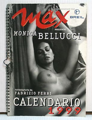 As3 83 Calendario Max 1999 Con Monica Bellucci