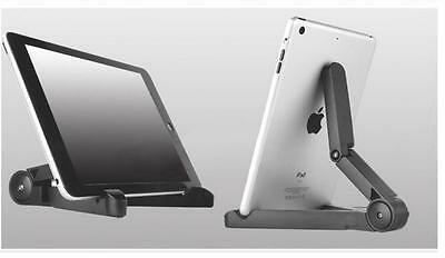 Folding Adjustable Desk Holder Mount Stand For Phone Galaxy Tablet iPad Air1/2