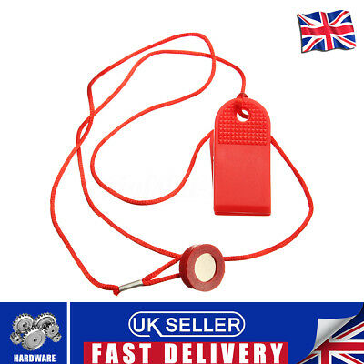 Red Universal Safety Running Machine Key Treadmill Magnetic Security Switch Lock