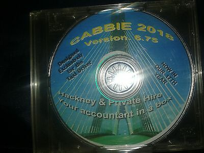 Taxi Driver Bookkeeping, Accounting & Tax Return Software Package Cabbie 2018