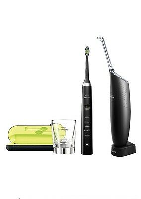 Philips Sonicare Diamond Clean Rechargeable Toothbrush - Black + Airfloss Ultra