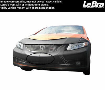 Covercraft LeBra 55723-01  Front End Cover Honda Civic Black Vinyl