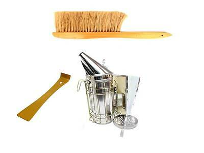 Smoker, Hive Tool, Bee Brush and Fuel - BARGAIN PRICE
