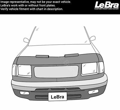 Lebra Front End Mask Bra Fits NISSAN FRONTIER 2009-2019 09-19 All