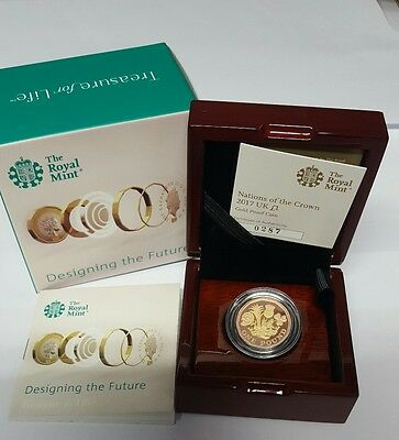 New £1 Coin Gold Proof. No longer available from the Royal Mint.