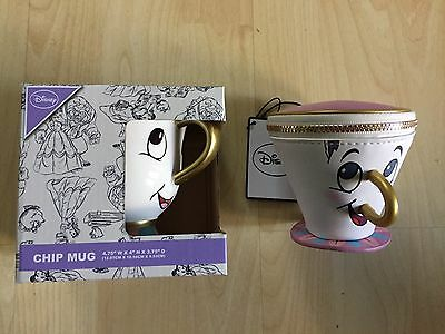 Primary Disney Chip Mug And Purse BNWT