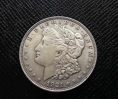 1921 United States Of America Silver One Dollar Coin