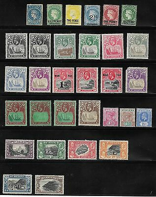 1860's Onwards Collection Of Mostly Unused St. Helena Stamps