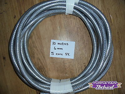 10 metres 6mm 5 core SY 10m