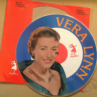 7'PICTURE Vera Lynn >We'll meet again/From the time...<  50's GOLD/Maybellene 82