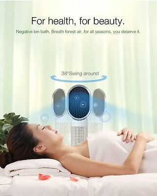 Air Purifier Ionizer Hepa Filter Fresh Room Odor Cleaning Dust Ionic for Allergy