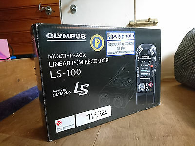 Olympus LS-100 Multi-track linear recorder working perfect