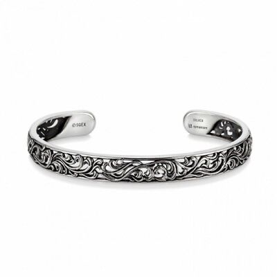 U-Treasure by K.UNO Final Fantasy Insomnia Silver 950 Bangle NEW from Japan F/S