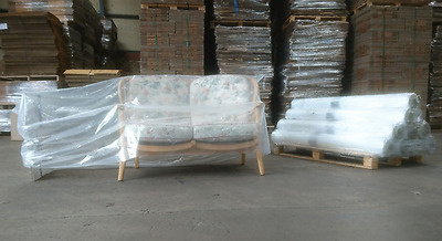 1x Sofa, Settee Storage Bags, Plastic Covers protectors for furniture Storage