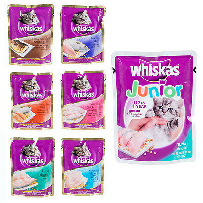 Whiskas Cat Wet Freshness Food Nutrition Healthy Growth Convenient Serve 85g